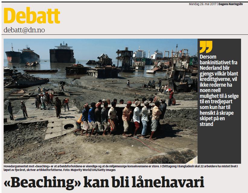 Hammervoll Pind i DN: «Beaching» kan bli lånehavari