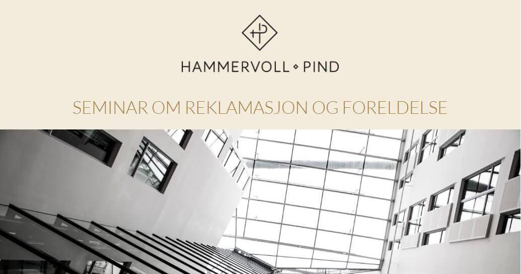 Seminar i Bergen: Hva bør du vite om reklamasjon og foreldelse?
