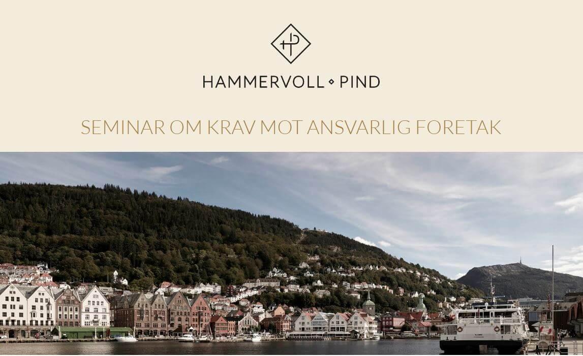 Seminar om krav mot ansvarlig foretak i Bergen