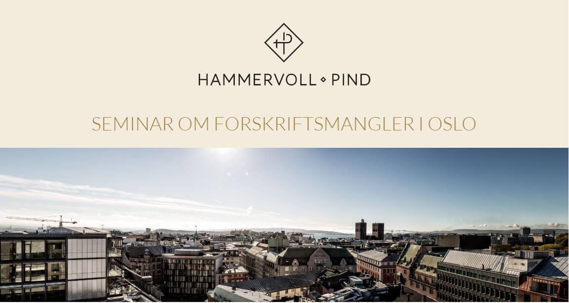 Seminar om forskriftsmangler i Oslo